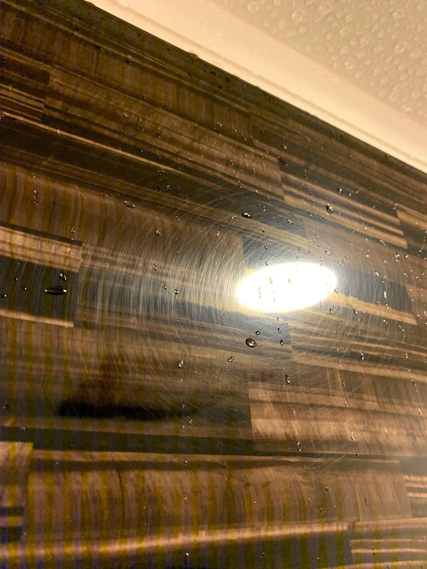 浴室(お風呂)の壁 傷