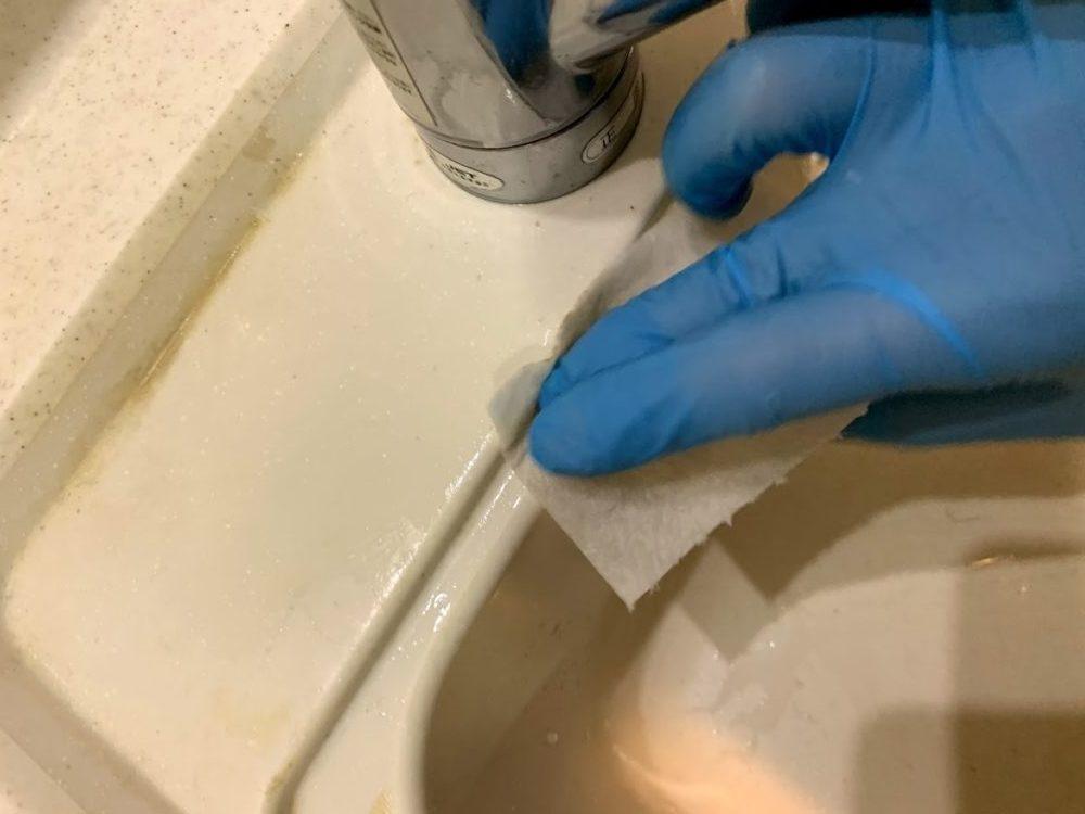 水垢 蛇口 掃除
