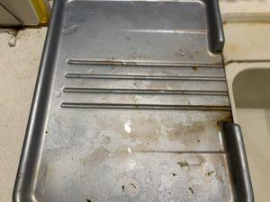 水切りカゴの汚れ