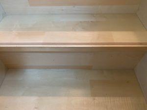 階段の汚れ