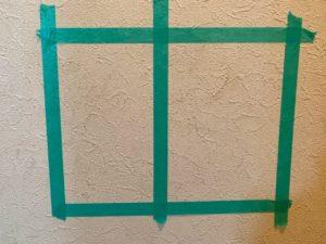 壁の汚れ掃除