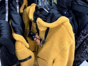 ワークマンのボアジャケット