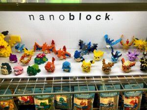 nanoblock POP UP STOREのナノブロック