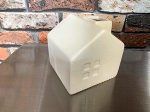 ダイソーの素焼きポット家型