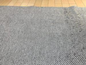 KEDAMANIAで絨毯の毛玉取り