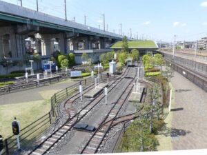 さいたま市の鉄道博物館のミニ運転列車