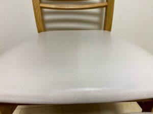 椅子の黒ずみ汚れをスチーマーで掃除