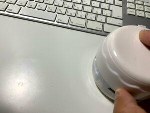 ダイソーのUSBブロアーでキーボードの汚れをスッキリ!